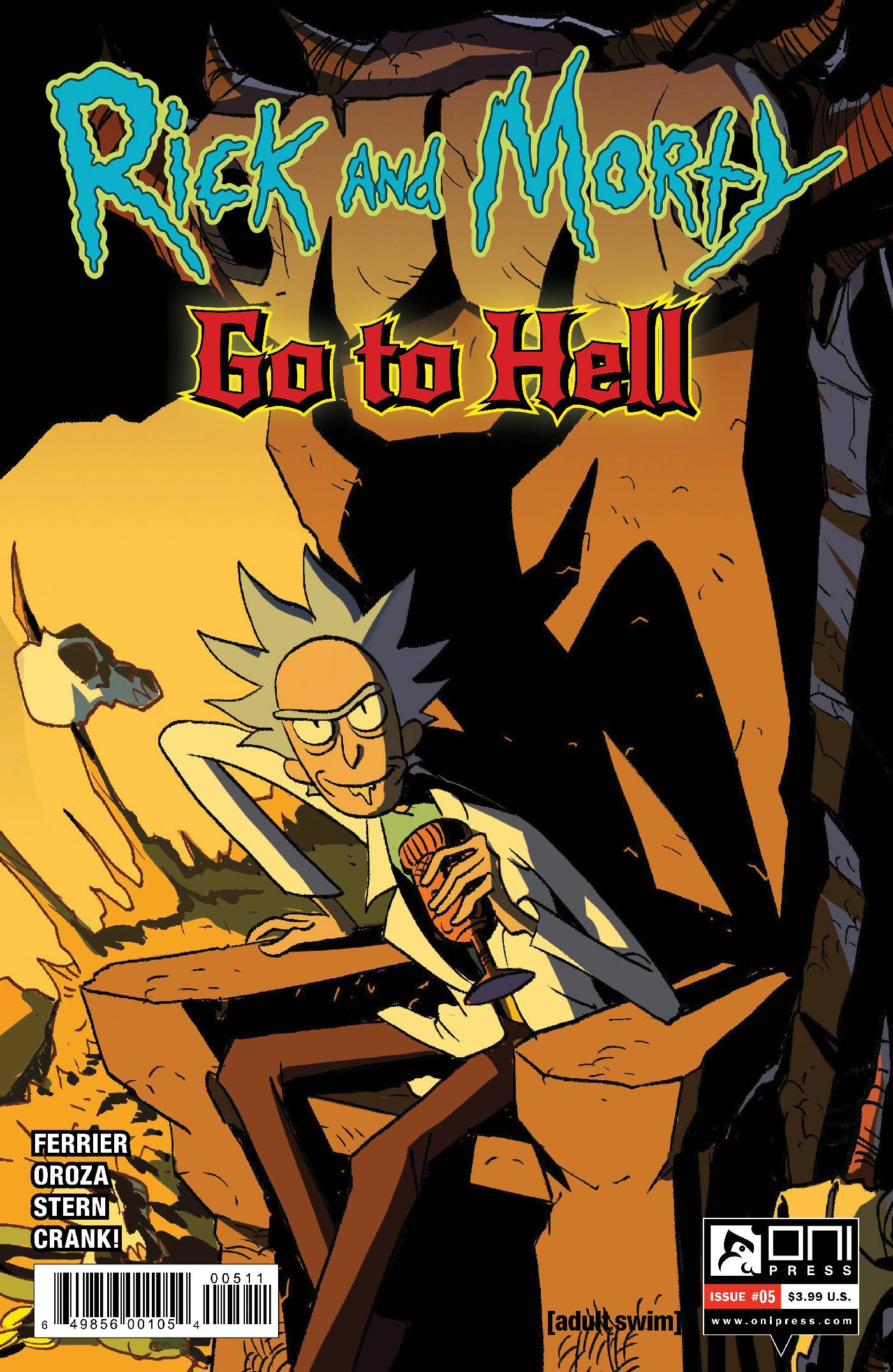 RICK AND MORTY GO TO HELL #5 CVR A