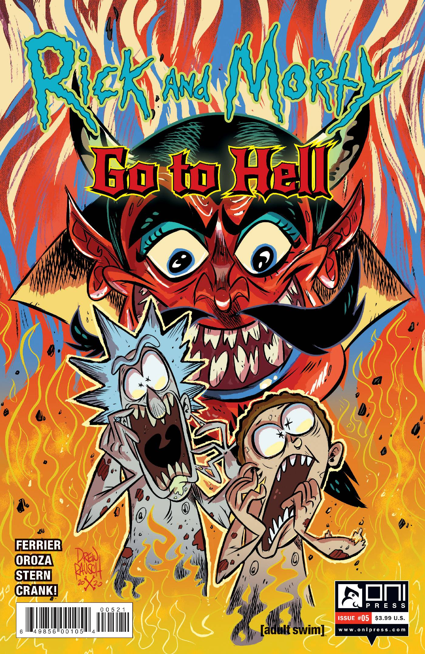 RICK AND MORTY GO TO HELL #5 CVR B