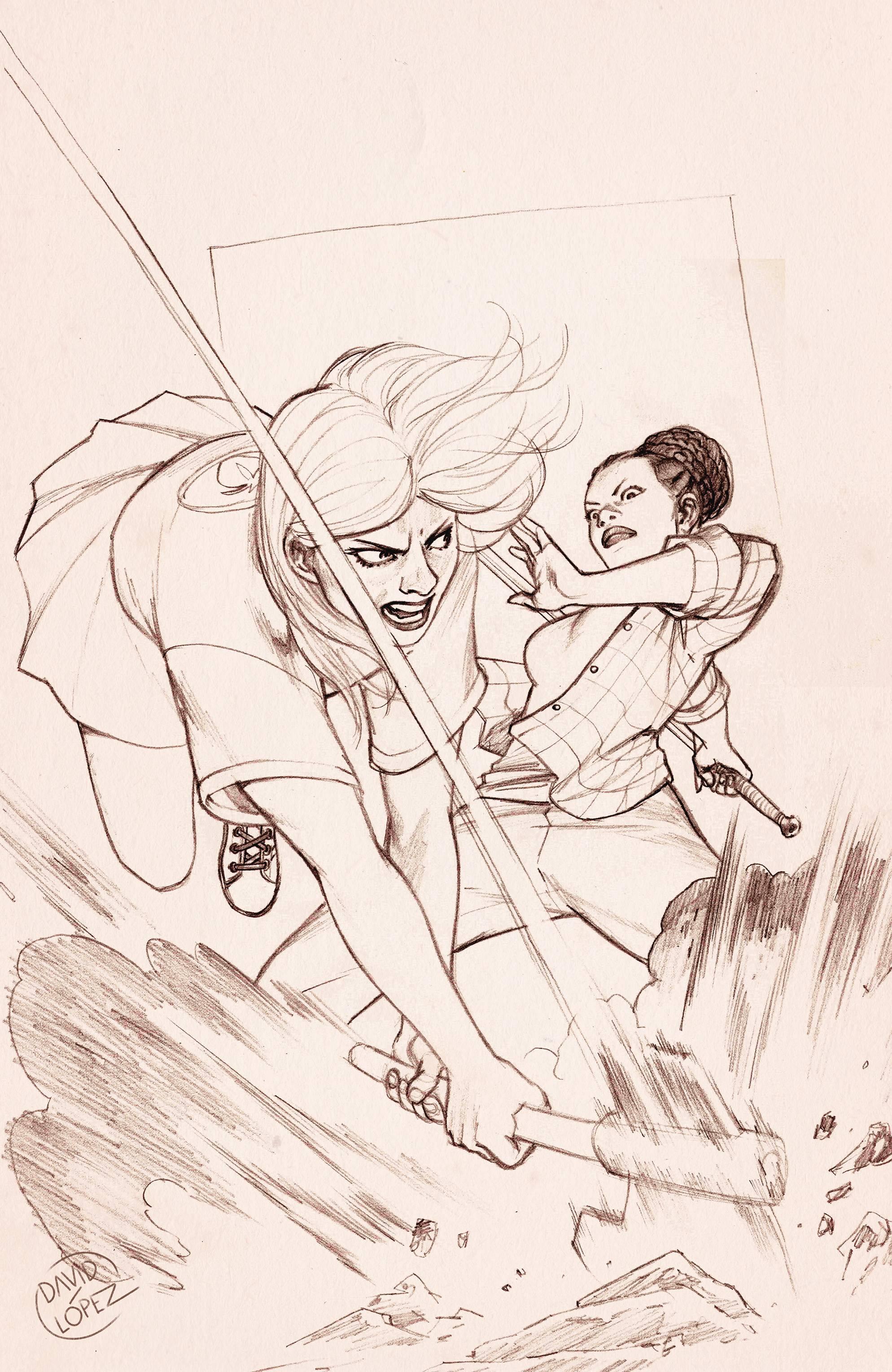 BUFFY THE VAMPIRE SLAYER #18 25 COPY LOPEZ INCV