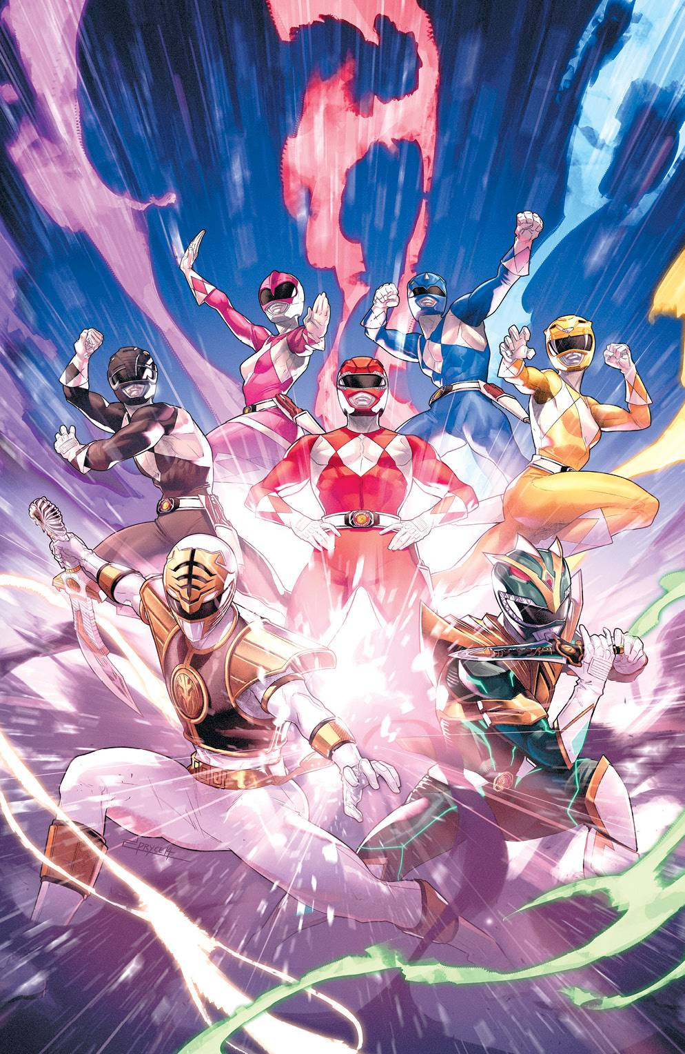 MIGHTY MORPHIN POWER RANGERS #55 25 COPY CAMPBELL INCV