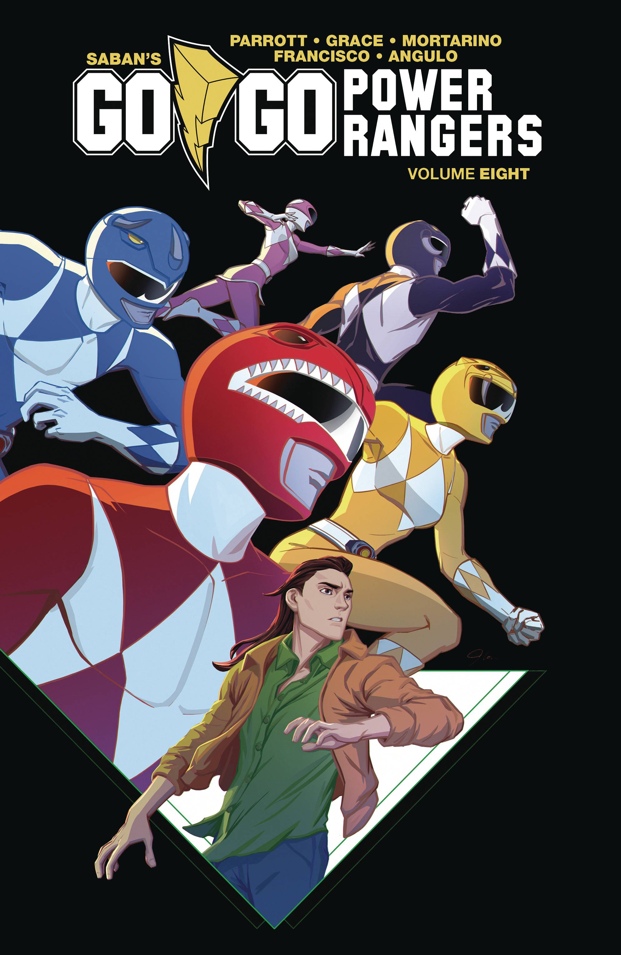 GO GO POWER RANGERS TP VOL 08