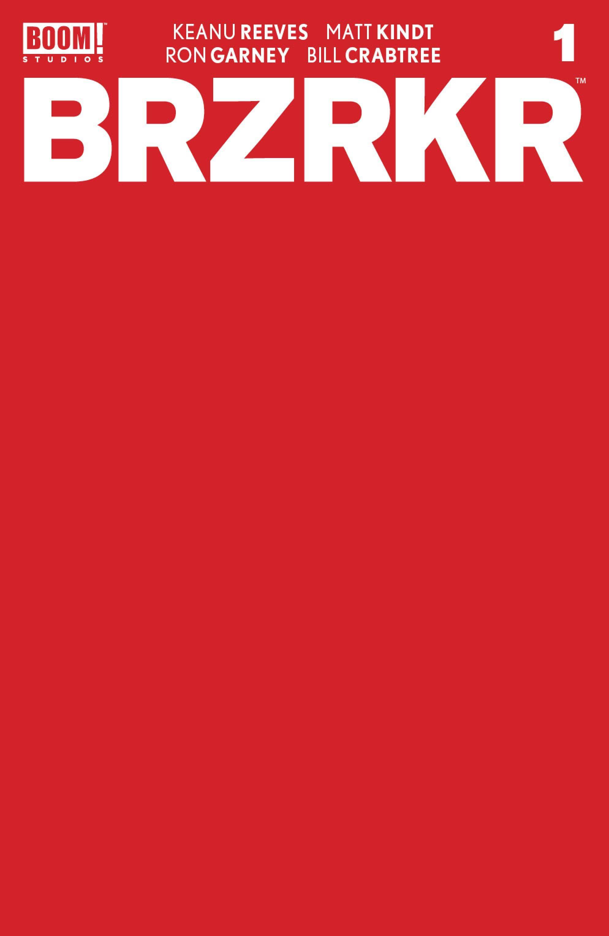 BRZRKR (BERZERKER) #1 10 COPY BROOKS DRESSED VAR (MR)