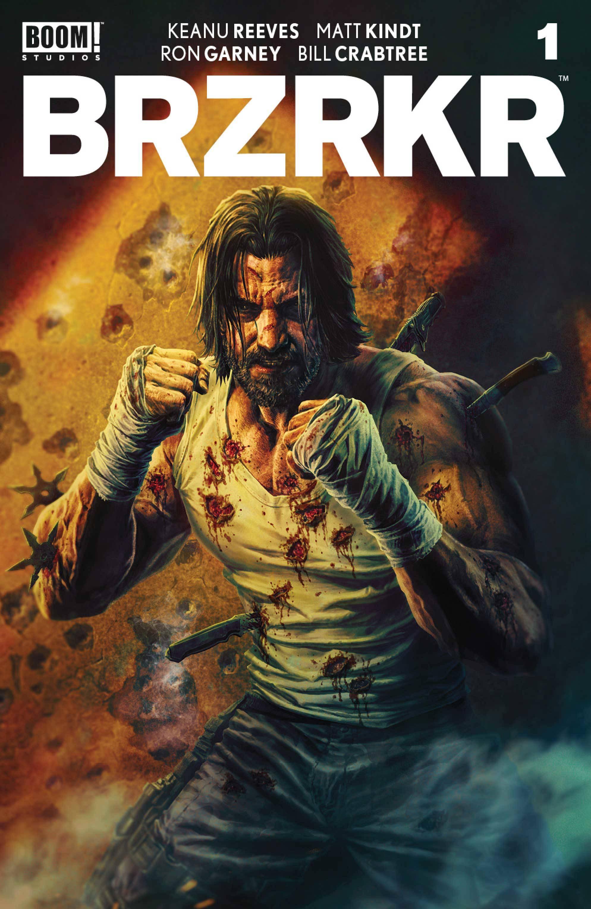 BRZRKR (BERZERKER) #1 25 COPY BROOKS UNDRESSED VAR (MR)
