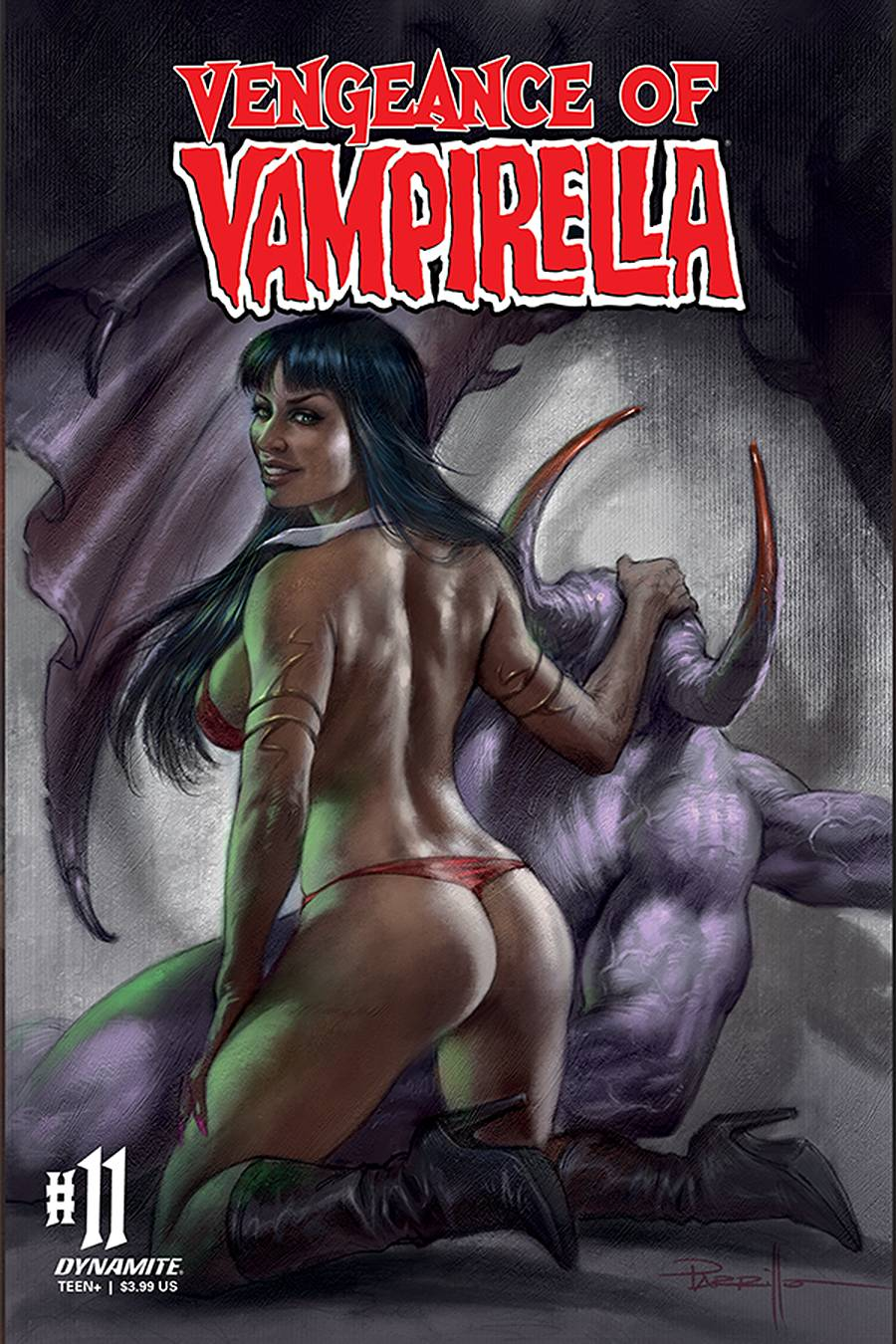 VENGEANCE OF VAMPIRELLA #11 CVR A PARRILLO