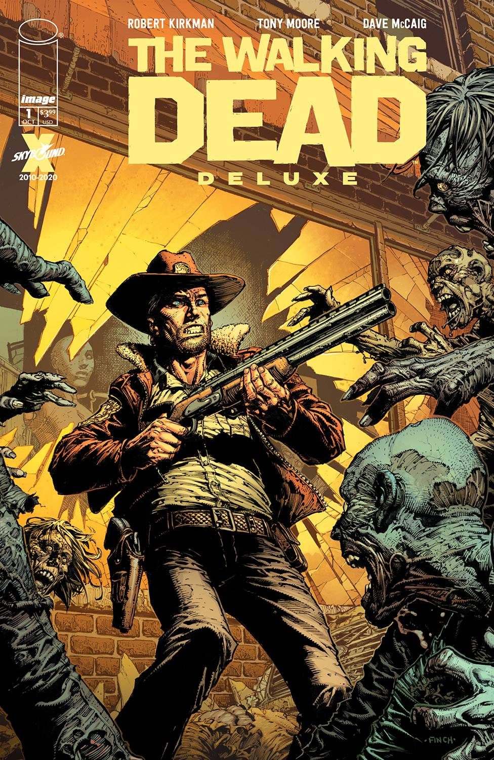 WALKING DEAD DLX #1 CVR A FINCH & MCCAIG (MR)