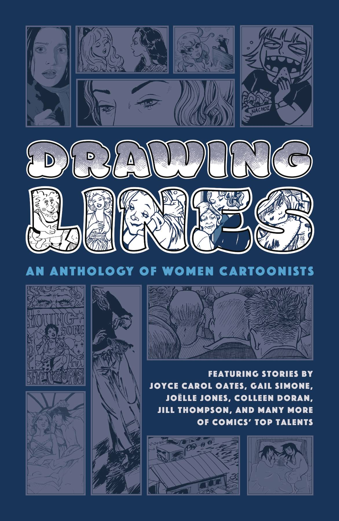 DRAWING LINES WOMEN CARTOONIST ANTHOLOGY HC (AUG200441) (MR)