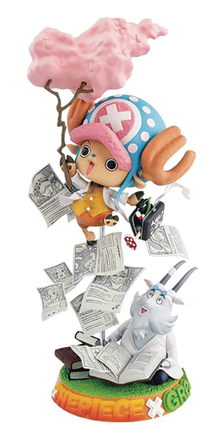 ONE PIECE CHALLENGE FROM GREEEEN TONY TONY CHOPPER FIG