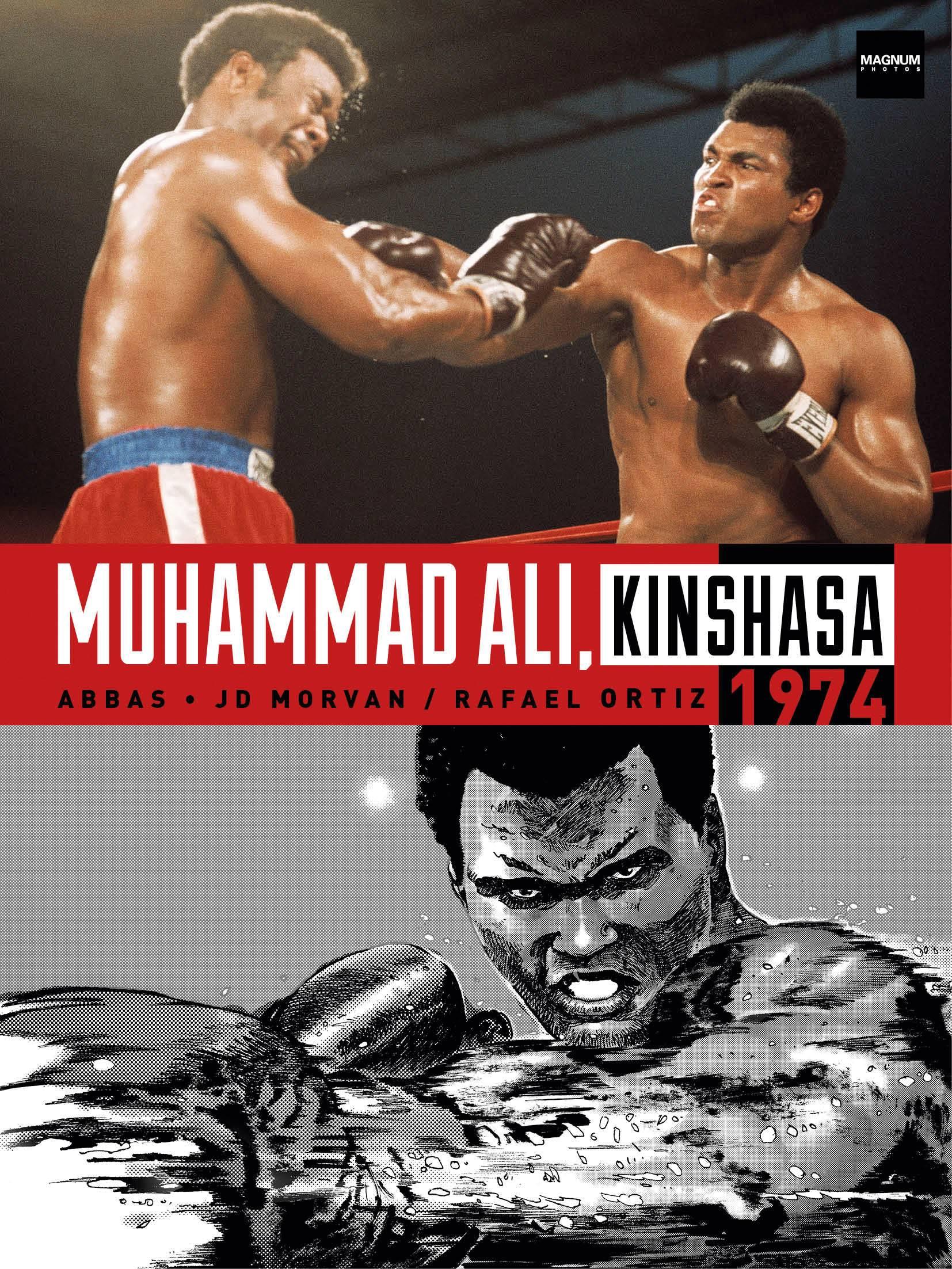 MUHAMMAD ALI KINSHASA 1974 HC (MR)