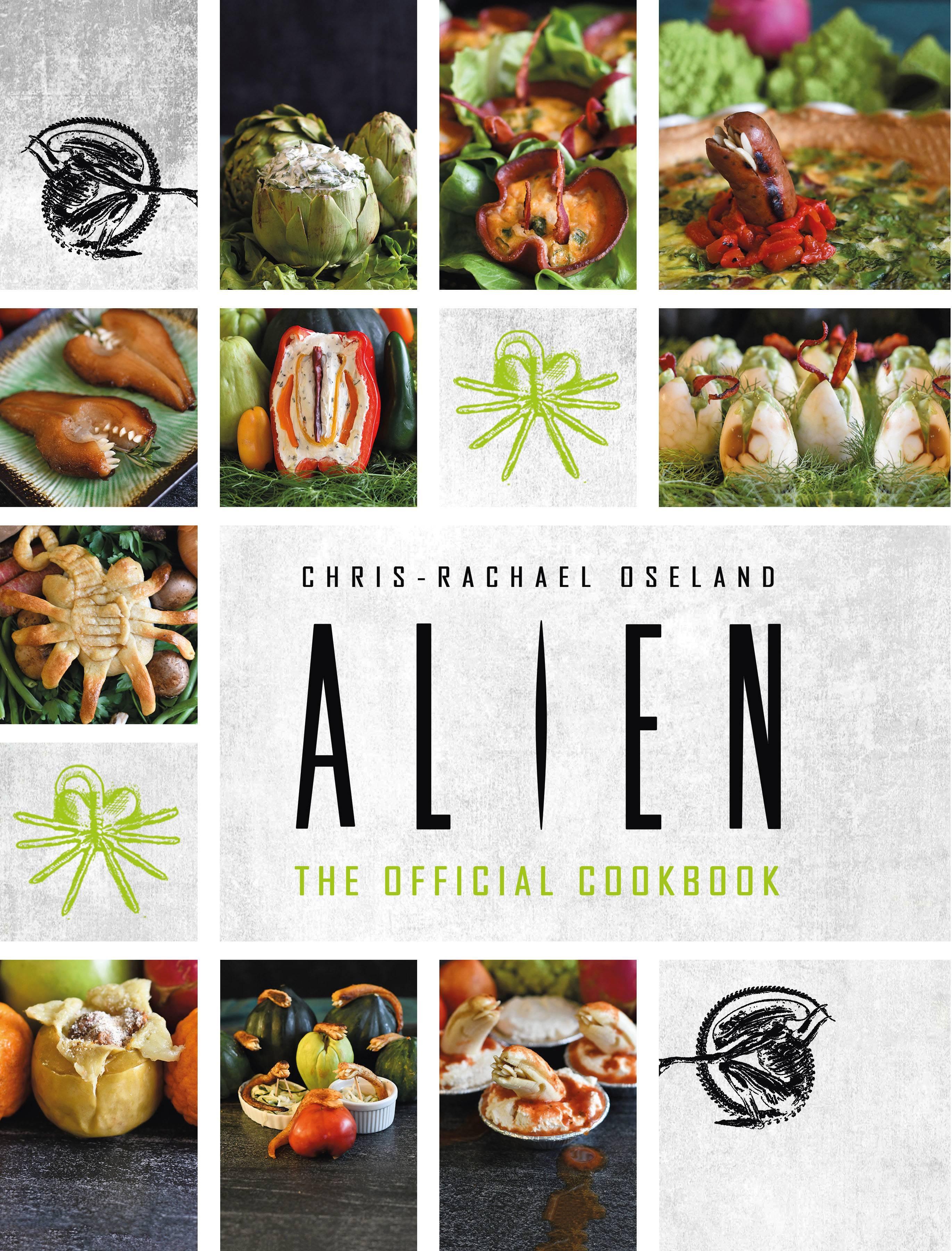 The Official Alien Cookbook in Titan Comics November 2020 Solicits