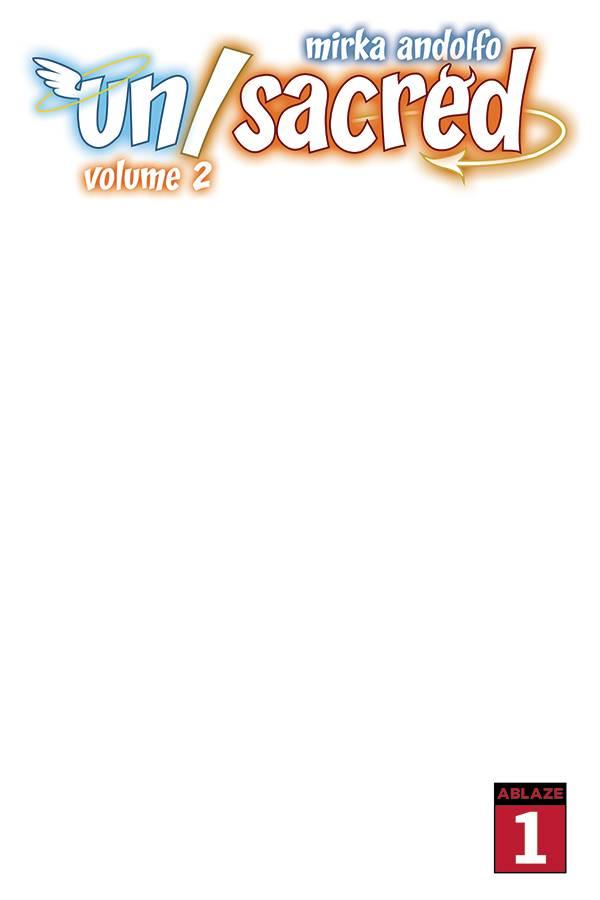 MIRKA ANDOLFOS UNSACRED VOL 2 #1 CVR G BLANK SKETCH CVR (MR)