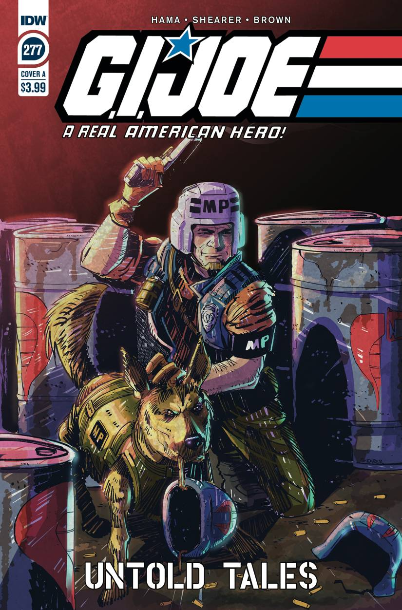 GI JOE A REAL AMERICAN HERO #277 CVR A SHEARER