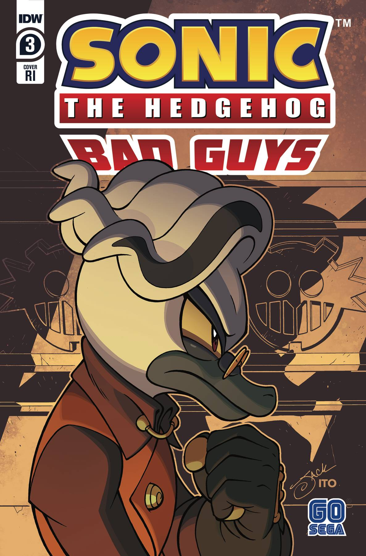 SONIC THE HEDGEHOG BAD GUYS #3 (OF 4) 10 COPY INCV LAWRENCE