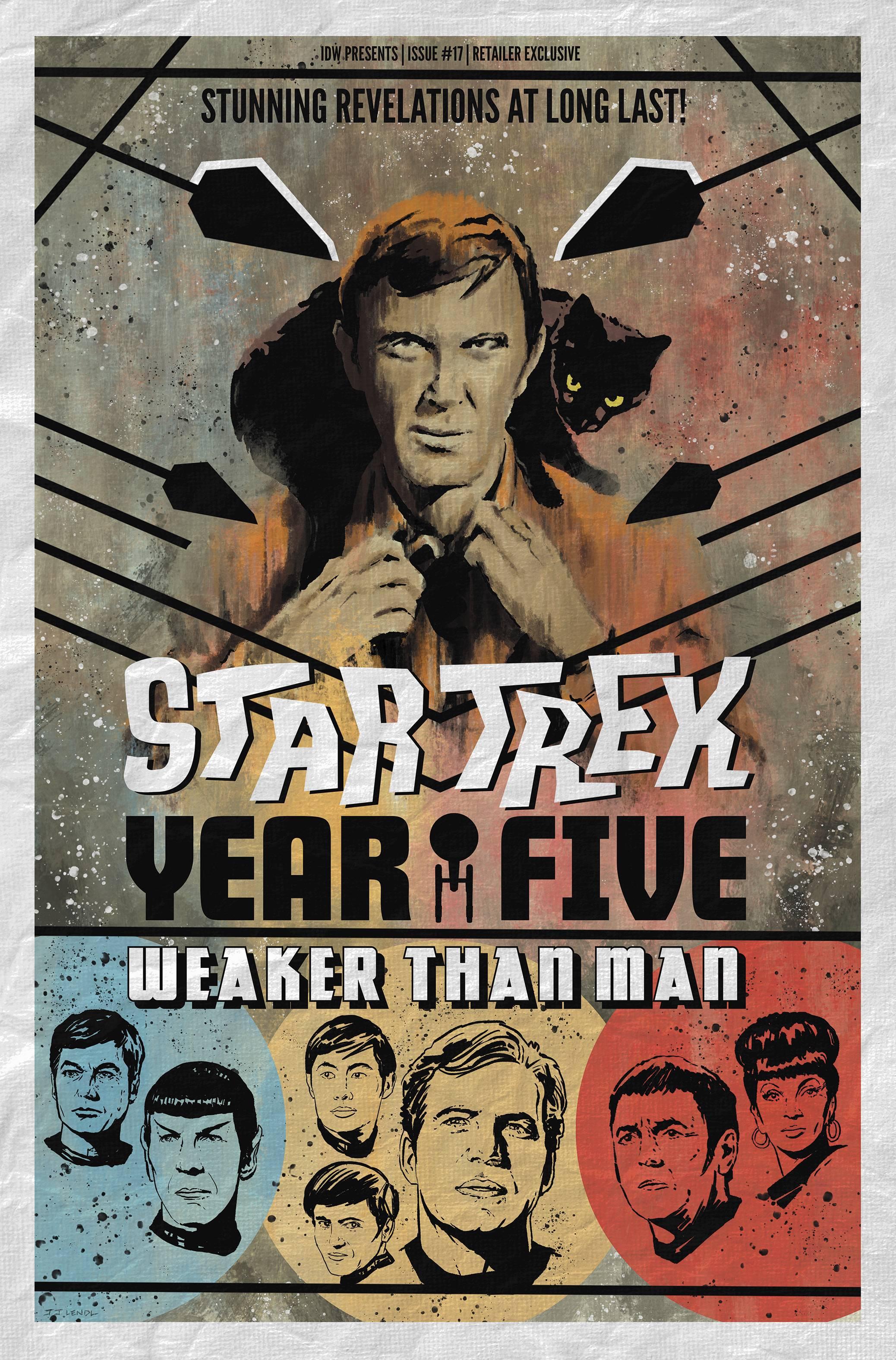 STAR TREK YEAR FIVE #17 10 COPY INCV LENDL