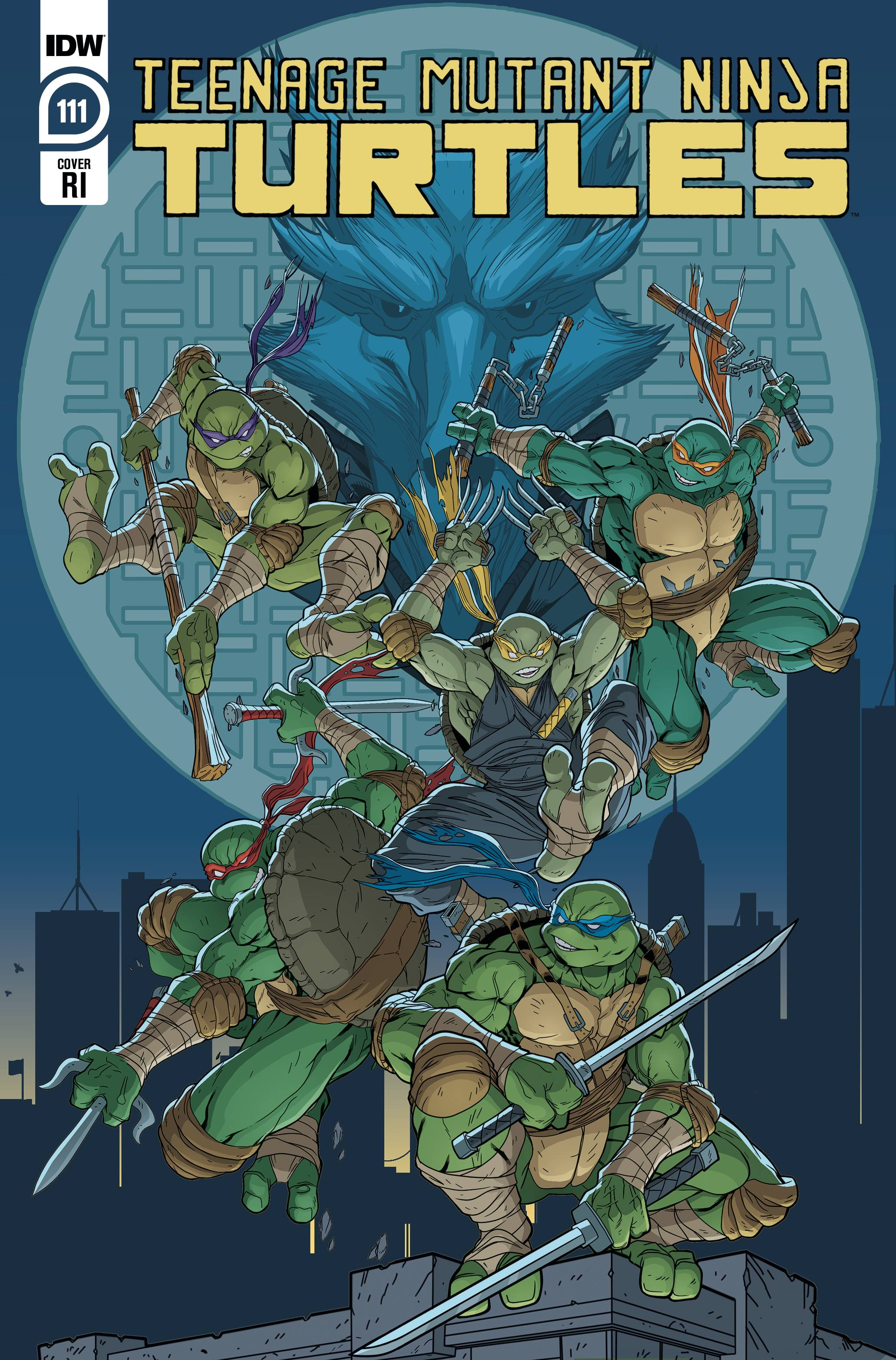 TMNT ONGOING #111 10 COPY INCV LUBERA