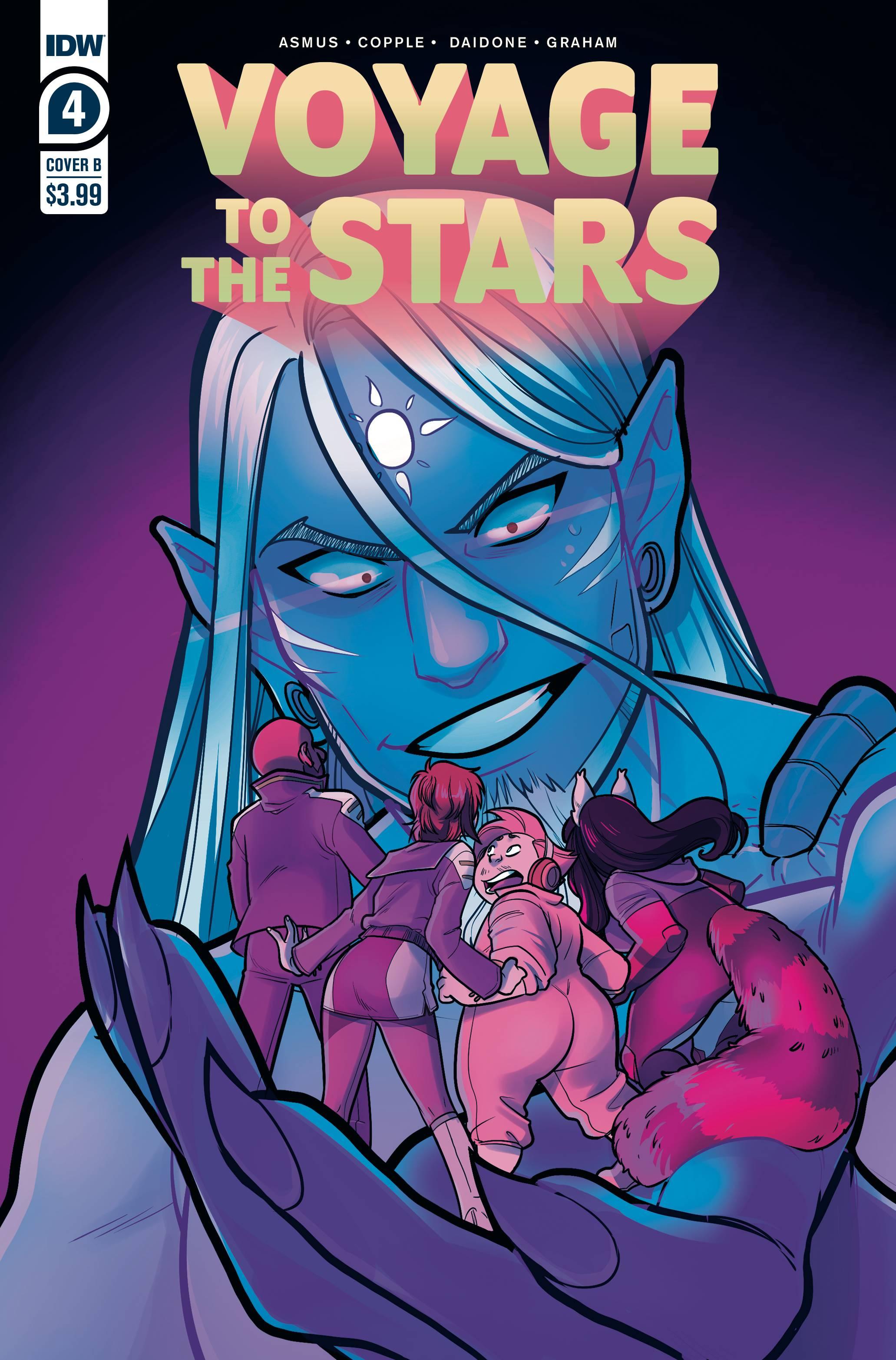 VOYAGE TO THE STARS #4 (OF 4) CVR B DAIDONE
