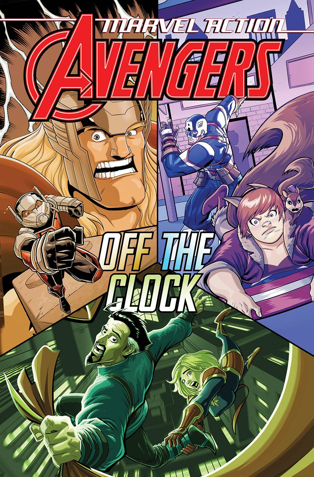 MARVEL ACTION AVENGERS TP BOOK 05 OFF THE CLOCK (RES)