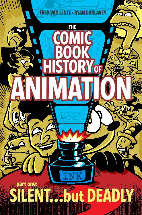 COMIC BOOK HISTORY OF ANIMATION #1 (OF 5) CVR A DUNLAVEY