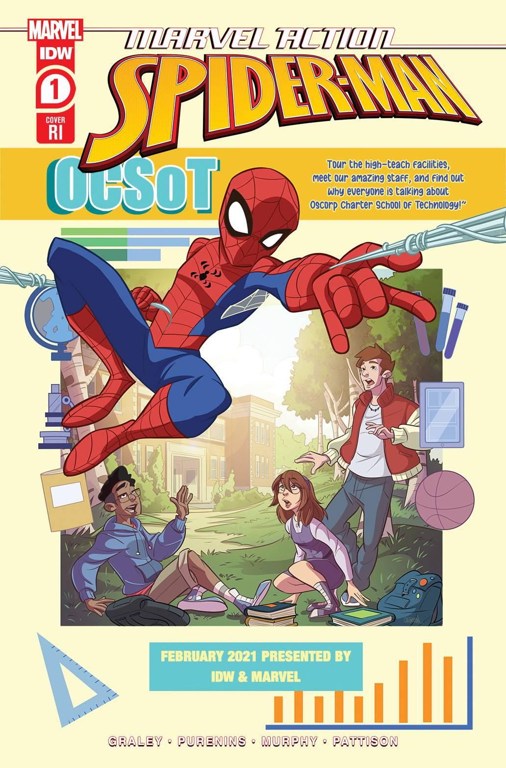 MARVEL ACTION SPIDER-MAN #1 10 COPY TBD INCV CVR