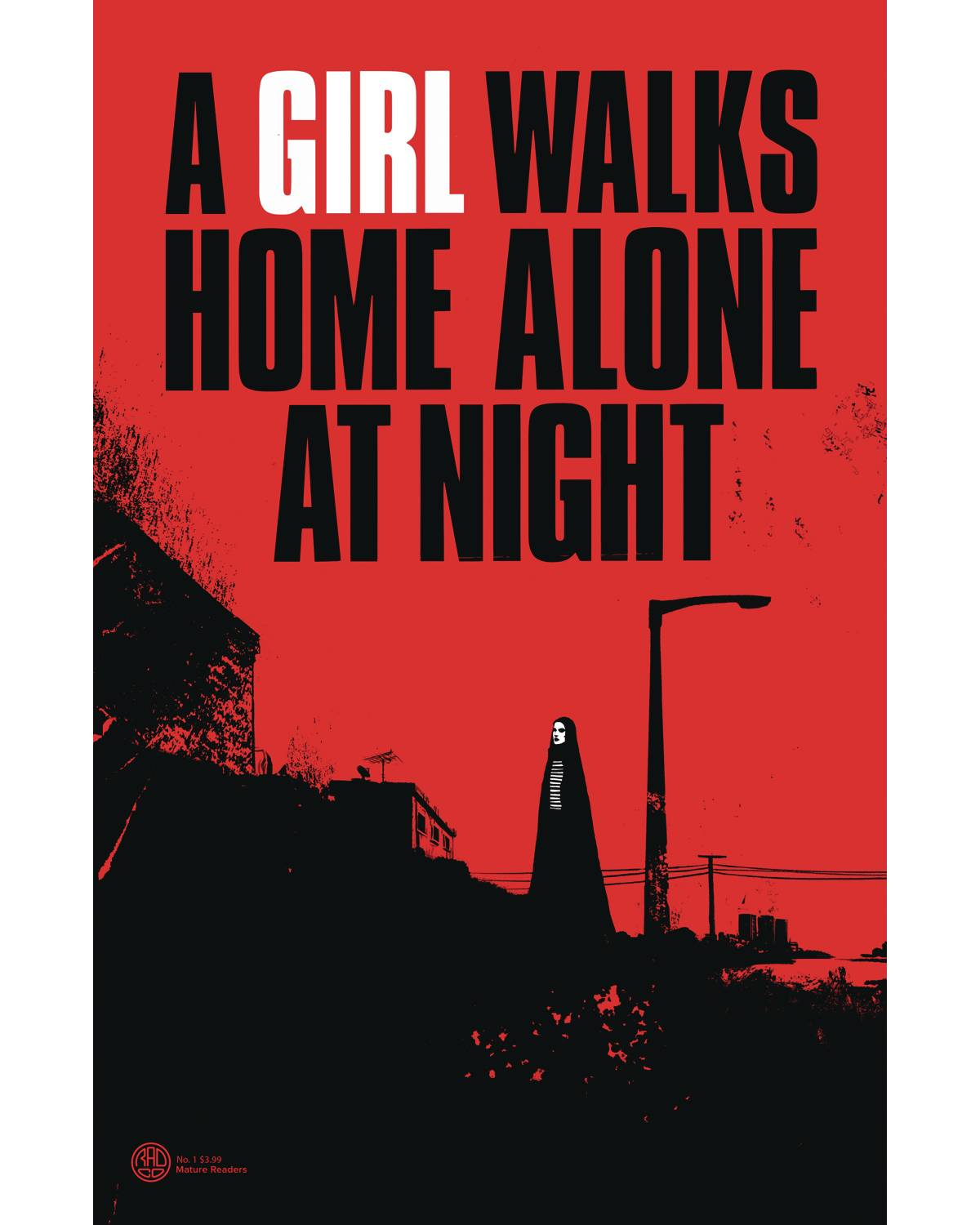 A GIRL WALKS HOME ALONE AT NIGHT #1 5 COPY DEWEESE INCV