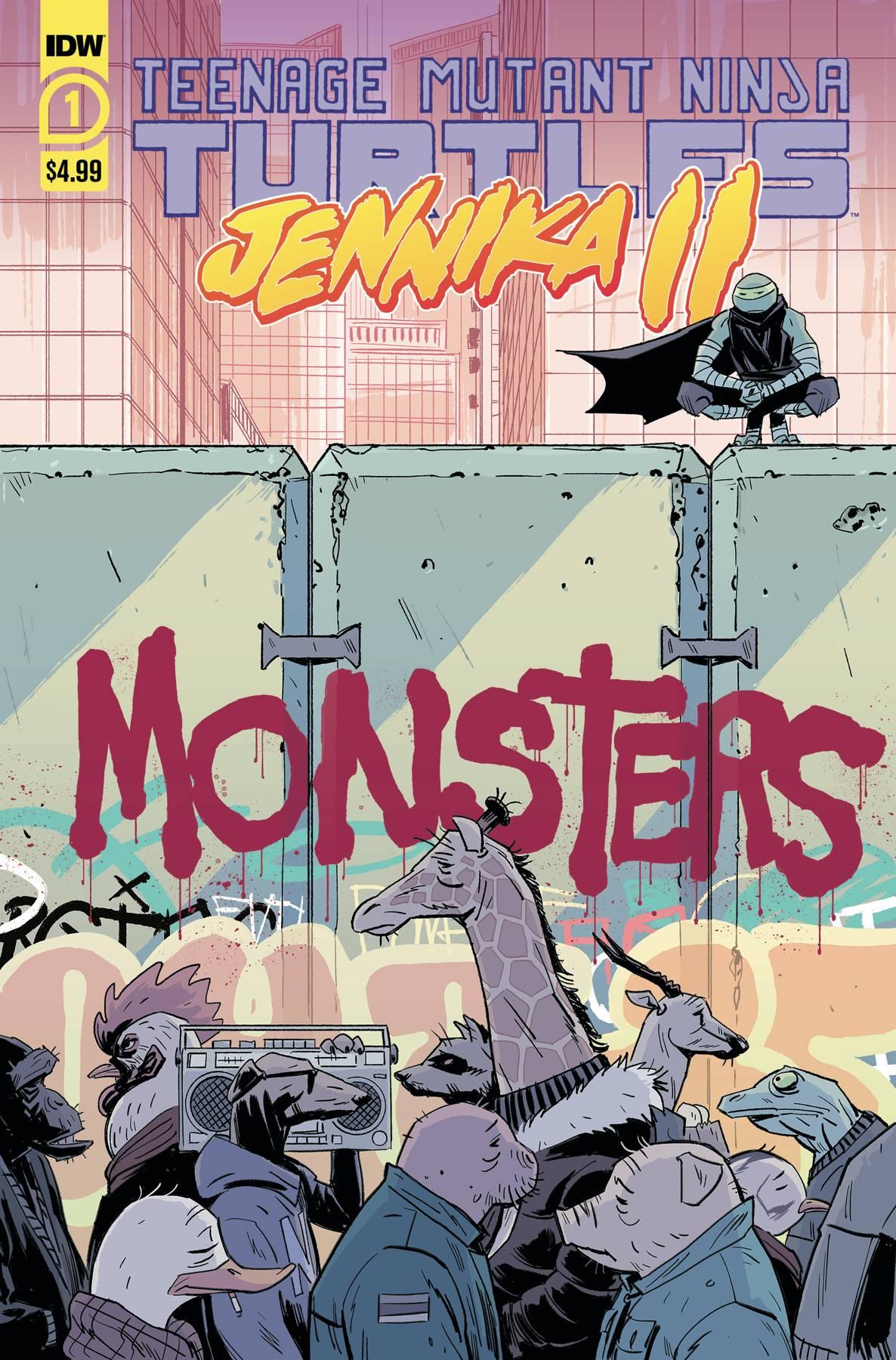 TMNT JENNIKA II #1 (OF 6) CVR A REVEL