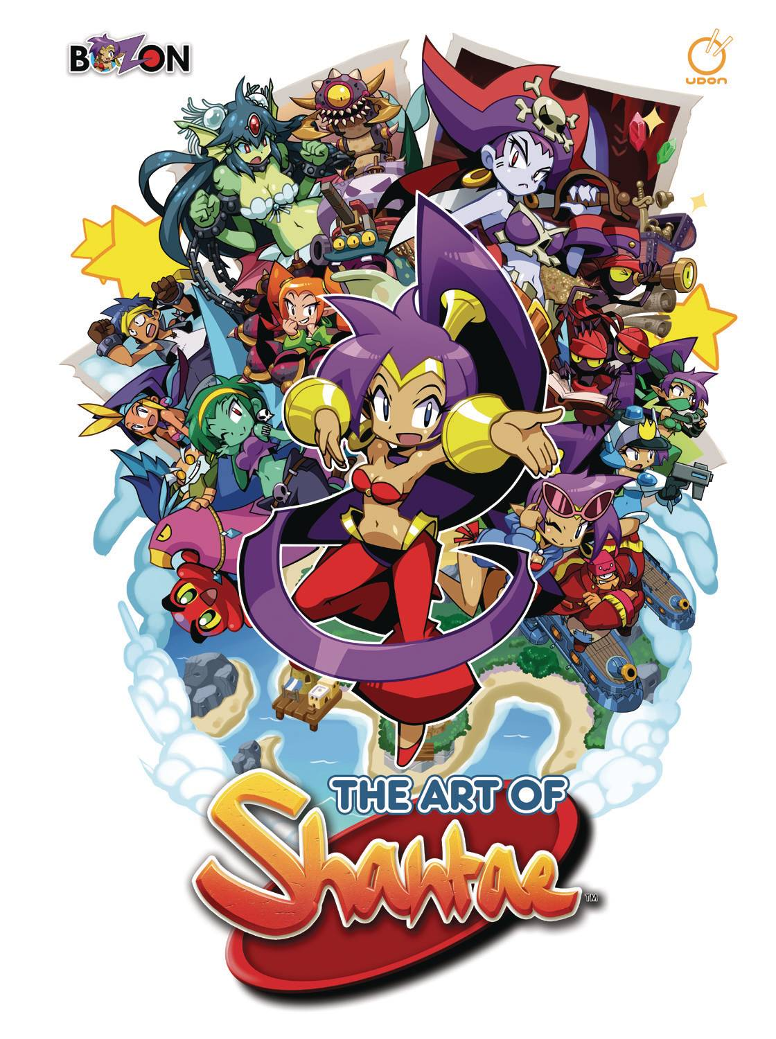 ART OF SHANTAE HC (RES)