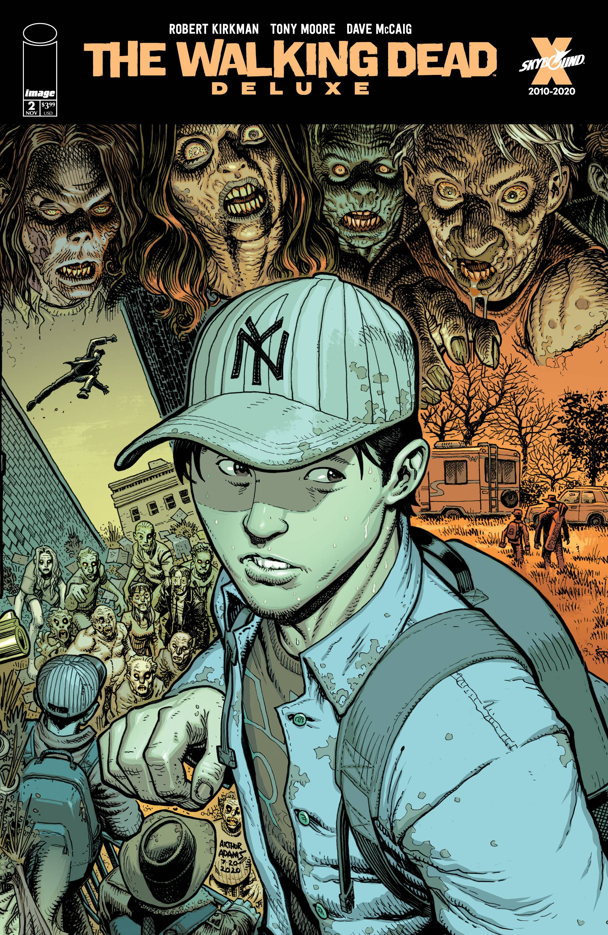 WALKING DEAD DLX #2 CVR E ADAMS & MCCAIG (MR)
