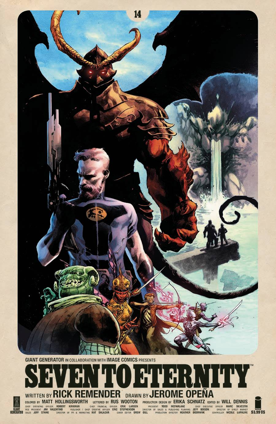 SEVEN TO ETERNITY #14 CVR A OPENA & HOLLINGSWORTH