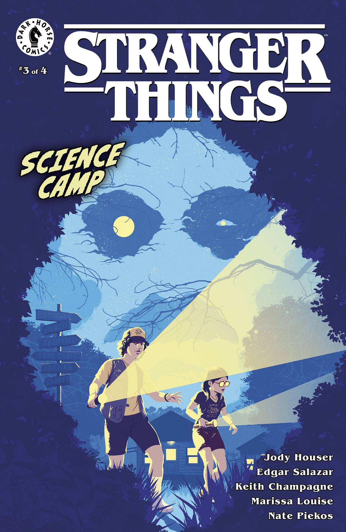 STRANGER THINGS SCIENCE CAMP #3 (OF 4) CVR B ALLEN