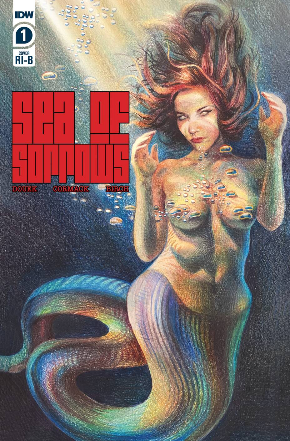 SEA OF SORROWS #1 (OF 5) 25 COPY INCV ERICA ROSE LEVINE (NET