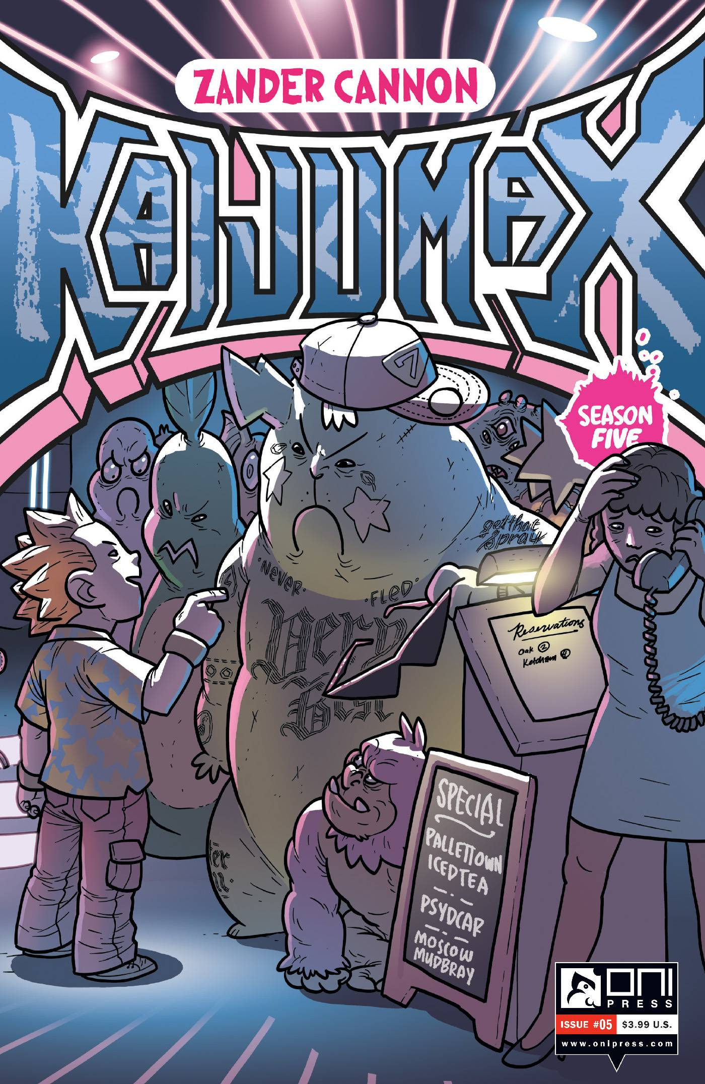 KAIJUMAX SEASON 5 #5 (MR)