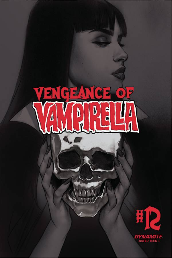 VENGEANCE OF VAMPIRELLA #12 30 COPY OLIVER B&W INCV