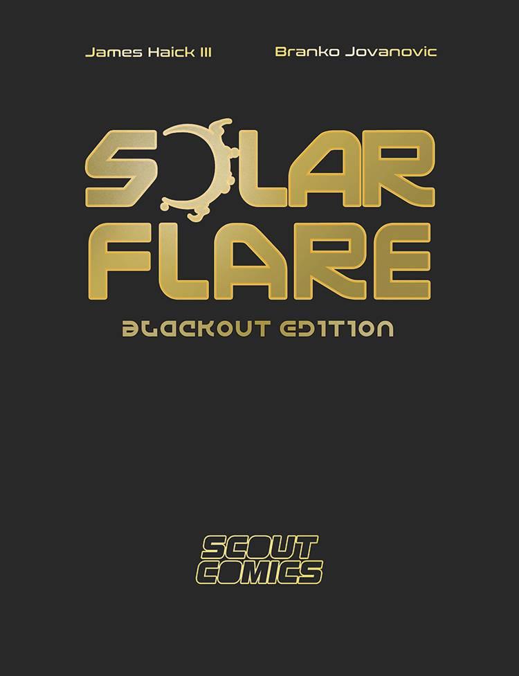 SOLAR FLARE BLACKOUT ED