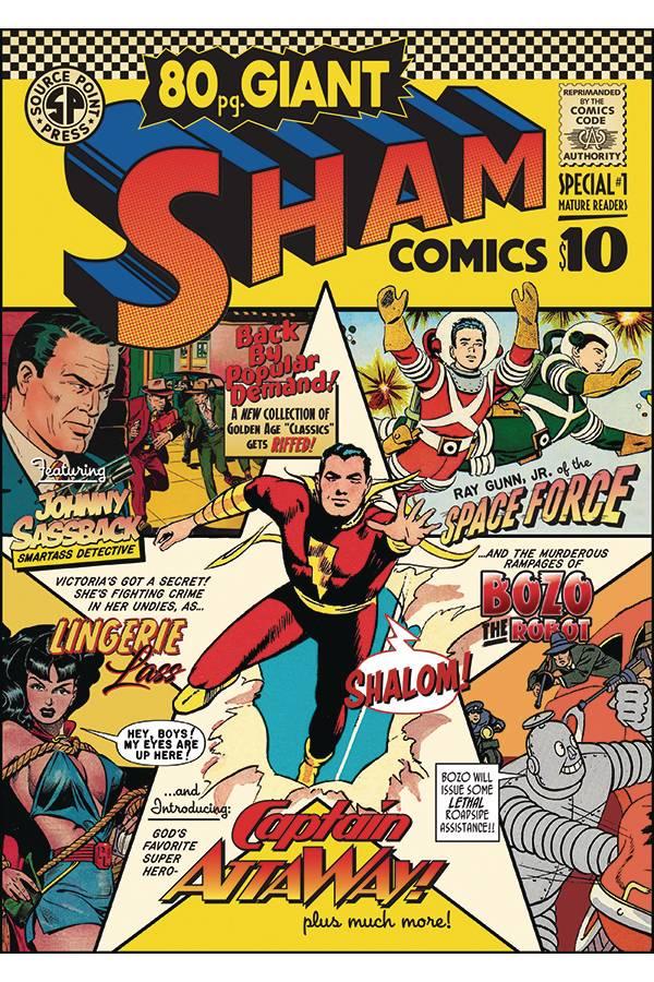 SHAM COMICS 80 PG GIANT