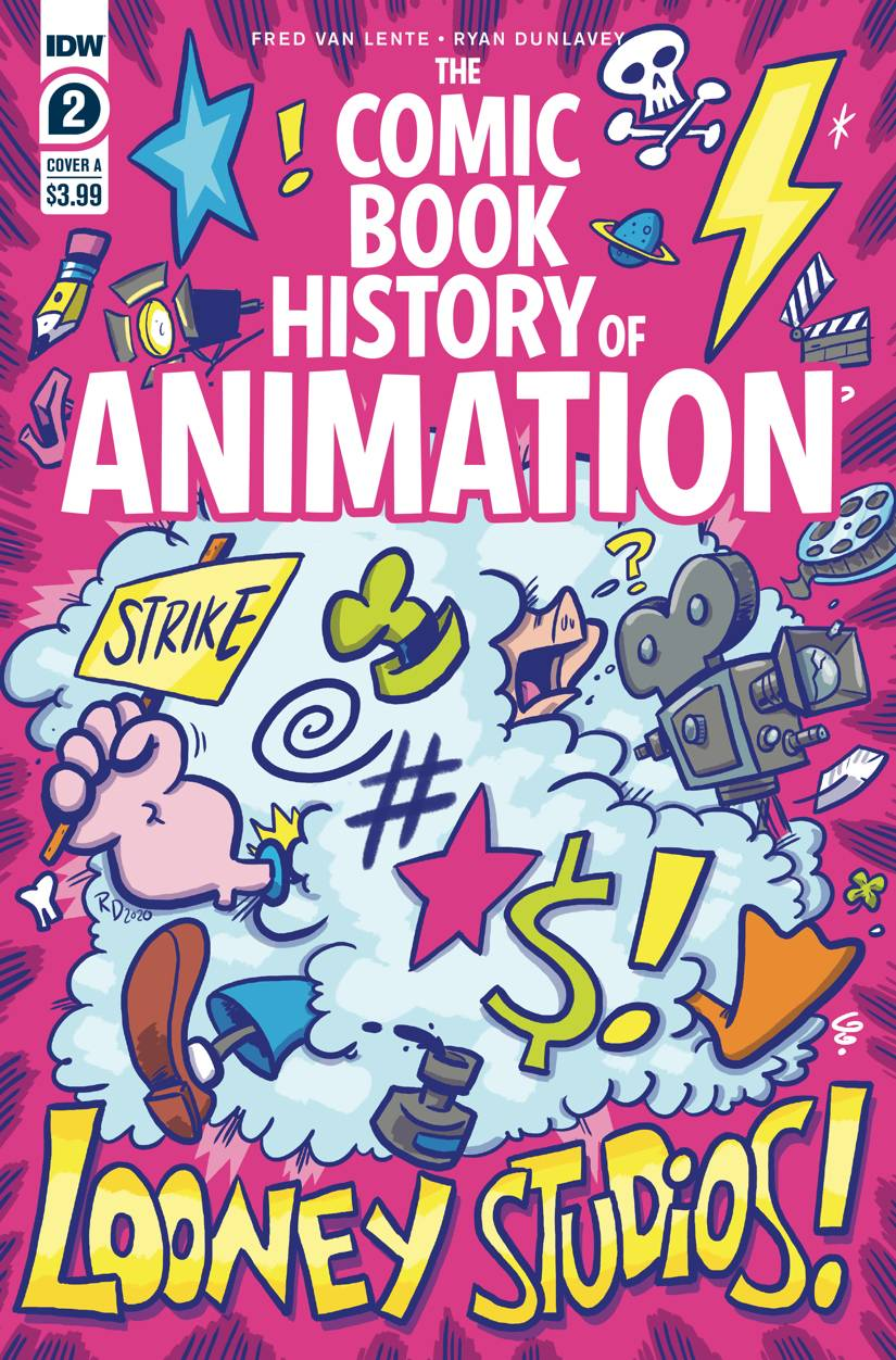 COMIC BOOK HISTORY OF ANIMATION #2 (OF 5) CVR A DUNLAVEY