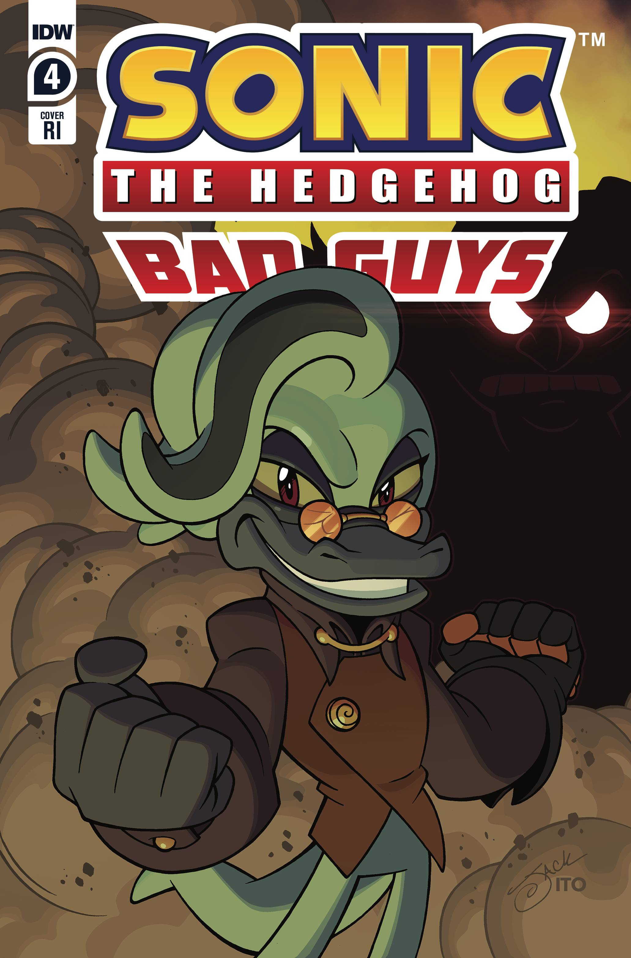 SONIC THE HEDGEHOG BAD GUYS #4 (OF 4) 10 COPY INCV LAWRENCE