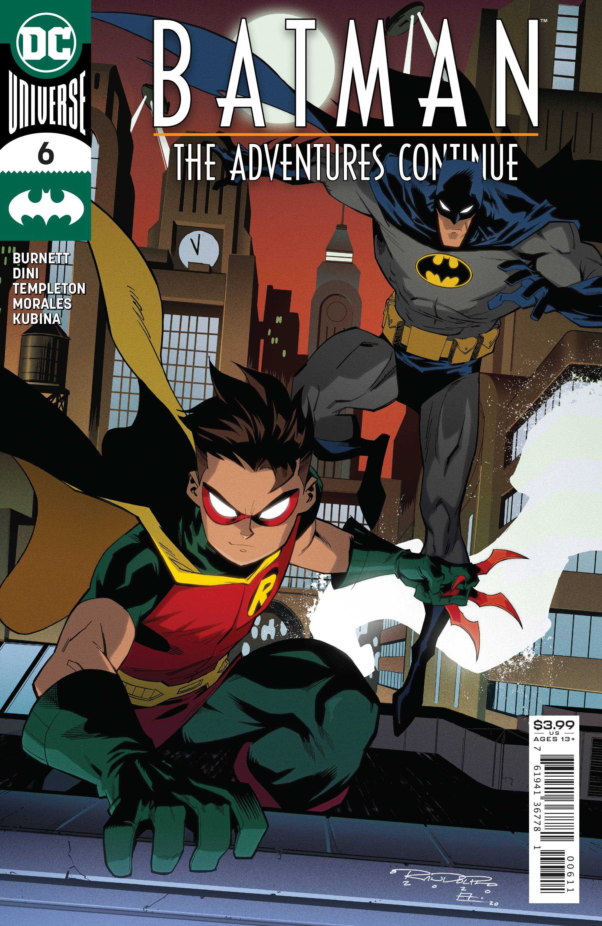 BATMAN THE ADVENTURES CONTINUE #6 (OF 6)