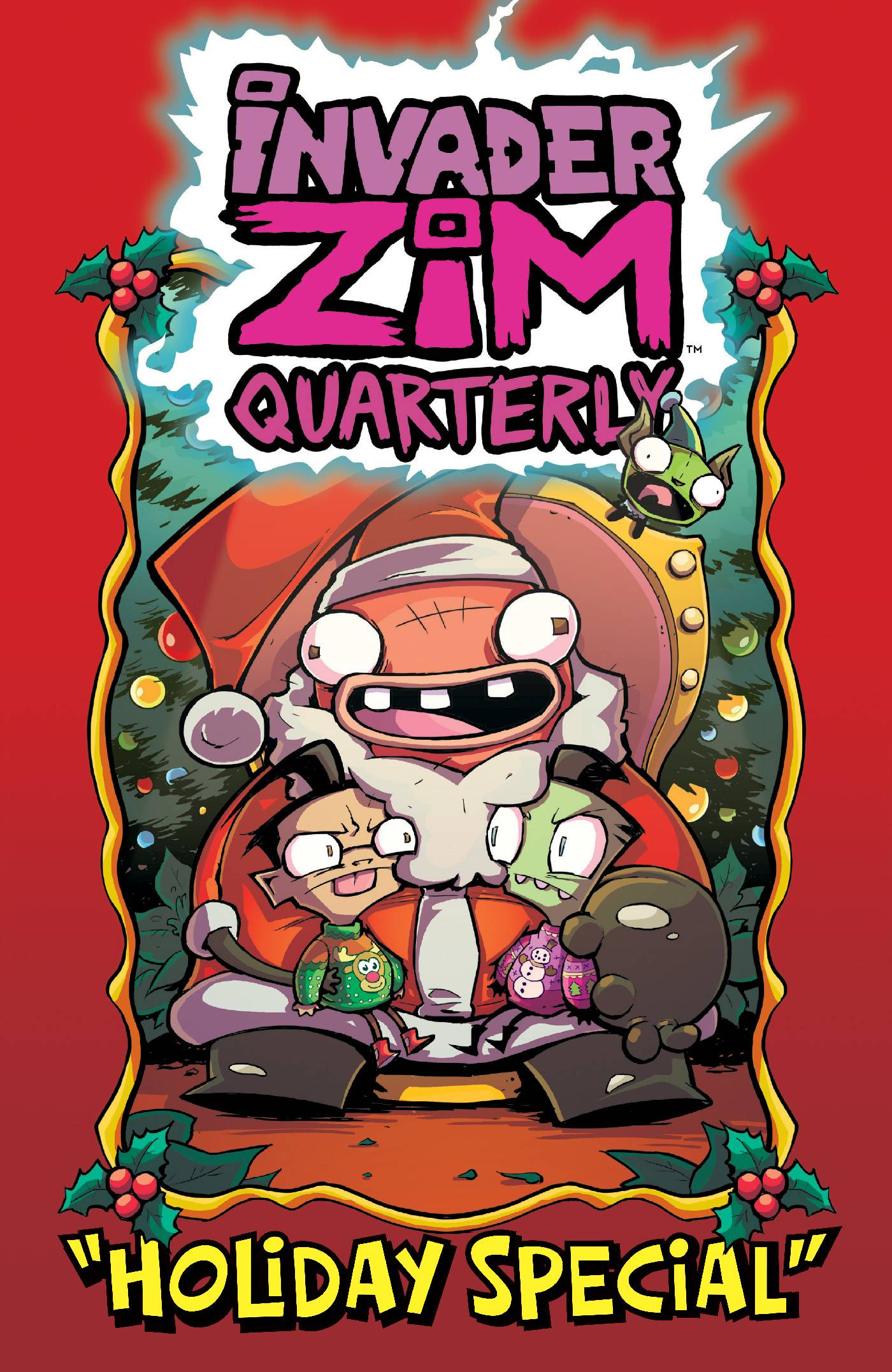 INVADER ZIM QUARTERLY HOLIDAY SPECIAL #1 CVR A ALEXOVICH