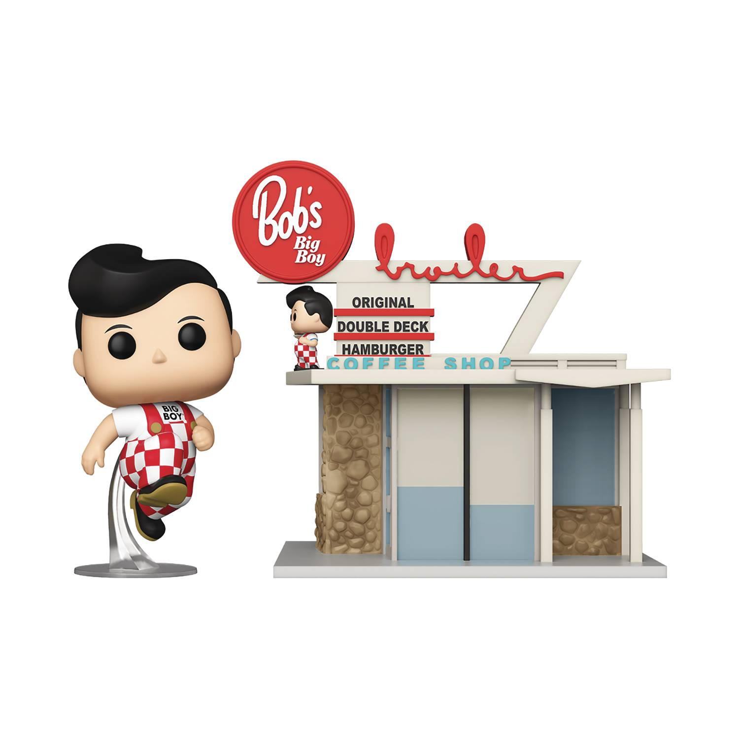 POP TOWN BOB BIG BOY RESTAURANT W/ BIG BOY VIN FIG