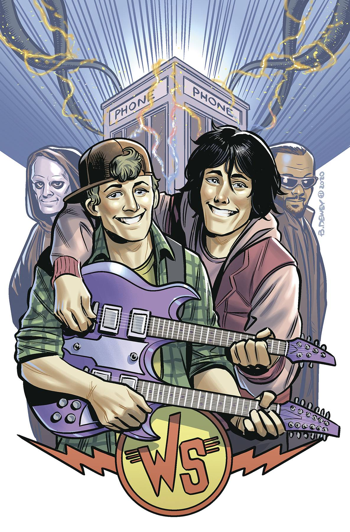 BILL & TED ARE DOOMED #4 (OF 4) CVR B DEWEY