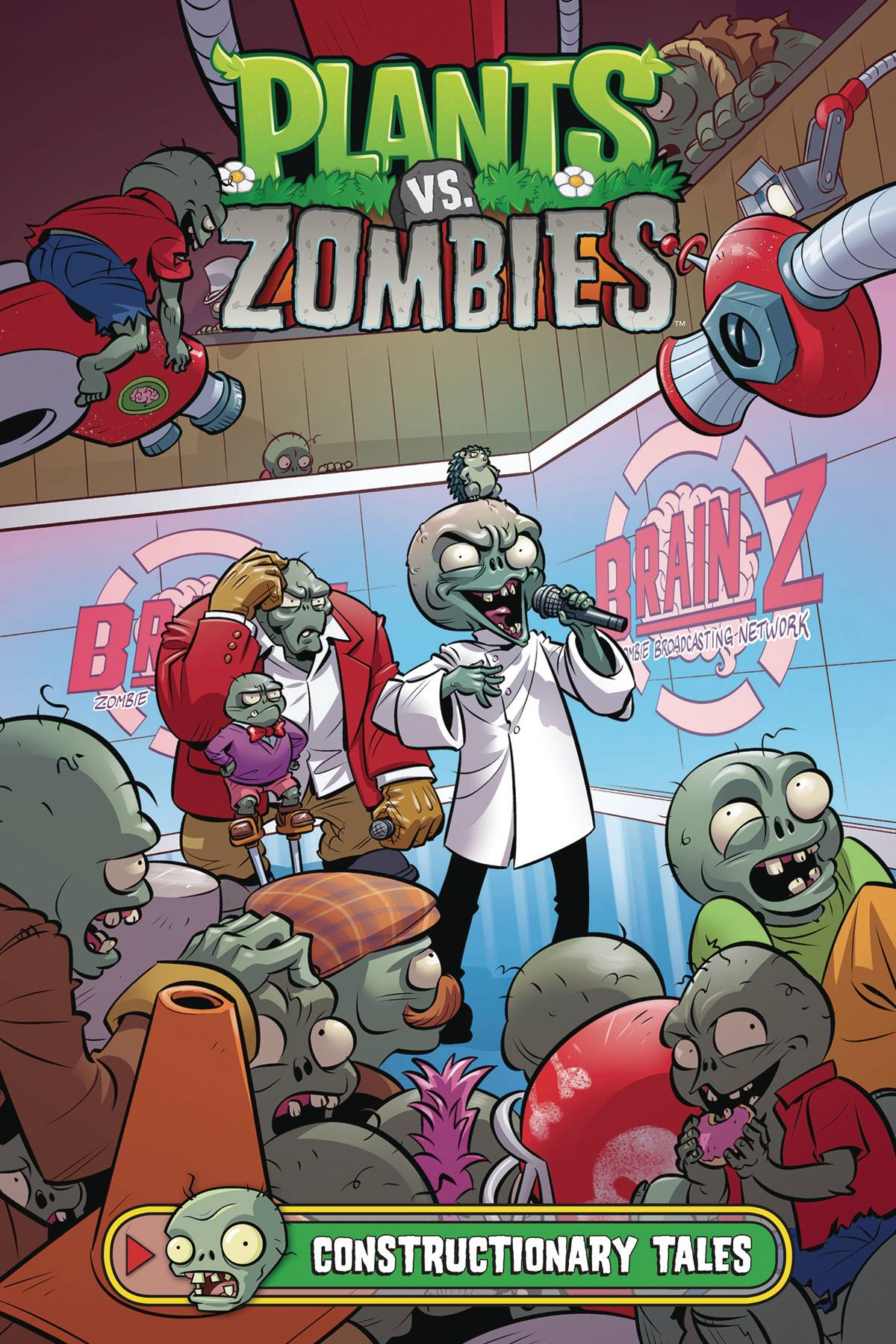 PLANTS VS ZOMBIES HC CONSTRUCTIONARY TALES (RES)