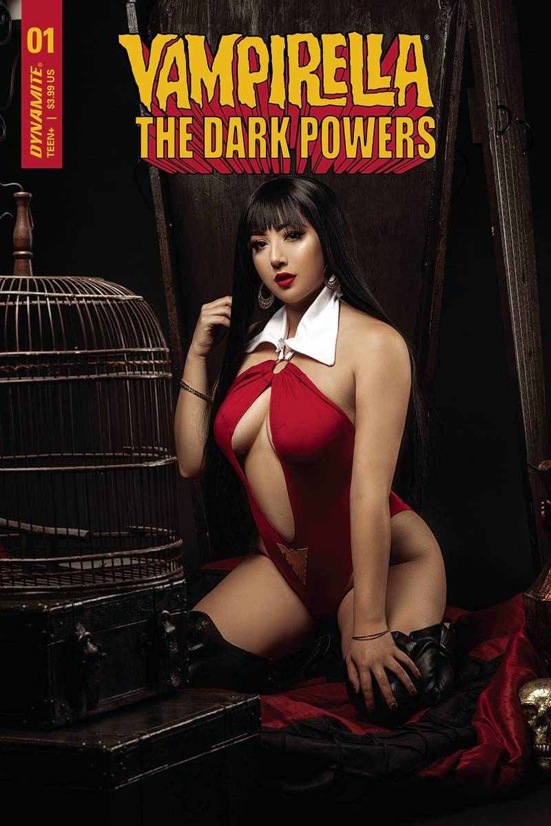 VAMPIRELLA DARK POWERS #1 CVR E RAMIREZ COSPLAY