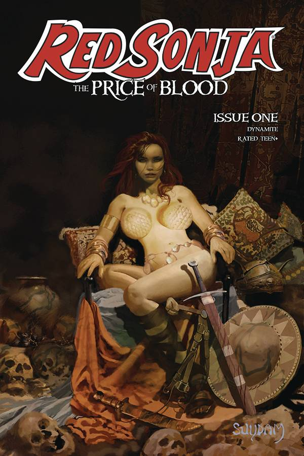 RED SONJA PRICE OF BLOOD #1 CVR A SUYDAM