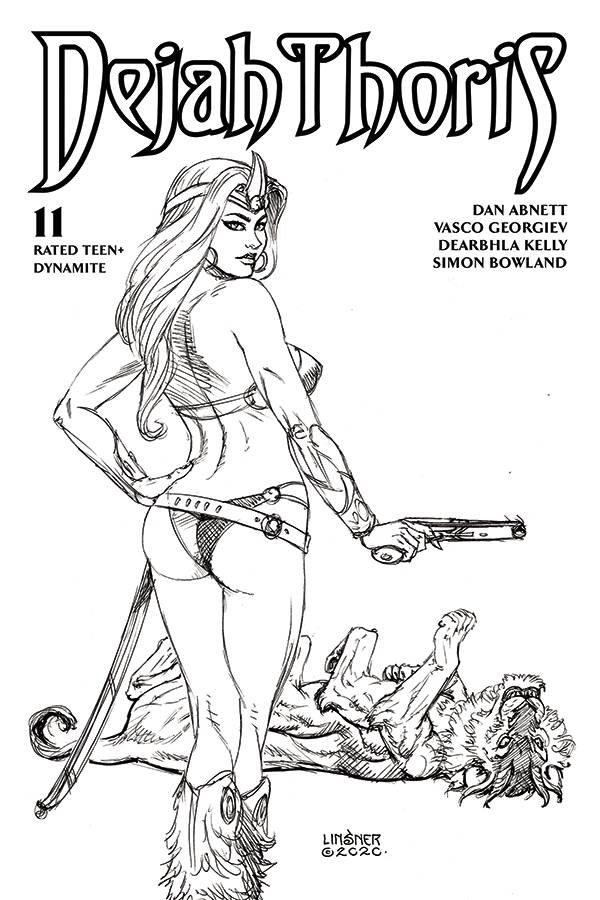 DEJAH THORIS (2019) #11 20 COPY LINSNER B&W INCV
