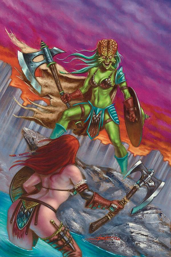 MARS ATTACKS RED SONJA #5 30 COPY STRATI VIRGIN INCV