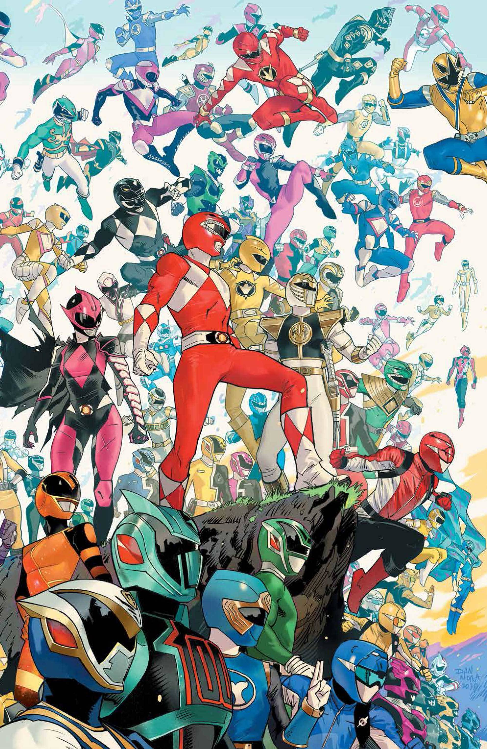 POWER RANGERS #2 10 COPY MORA INCV