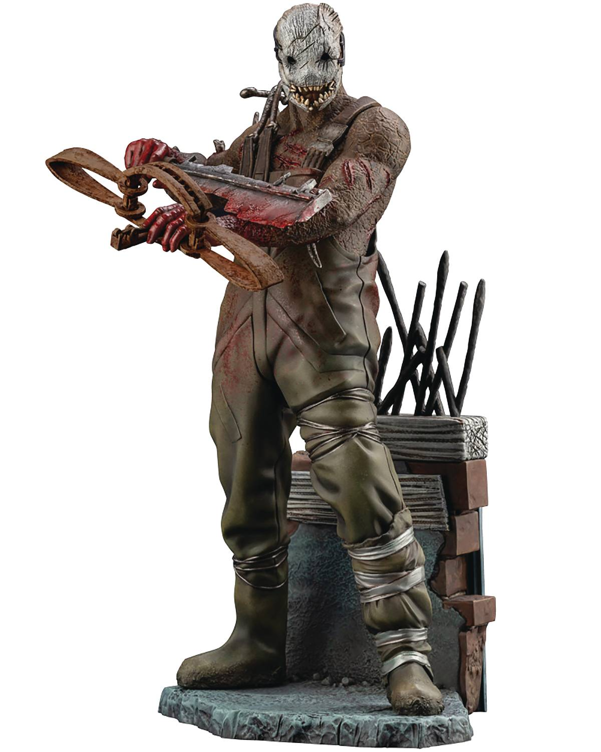 DEAD BY DAYLIGHT THE TRAPPER PVC STATUE