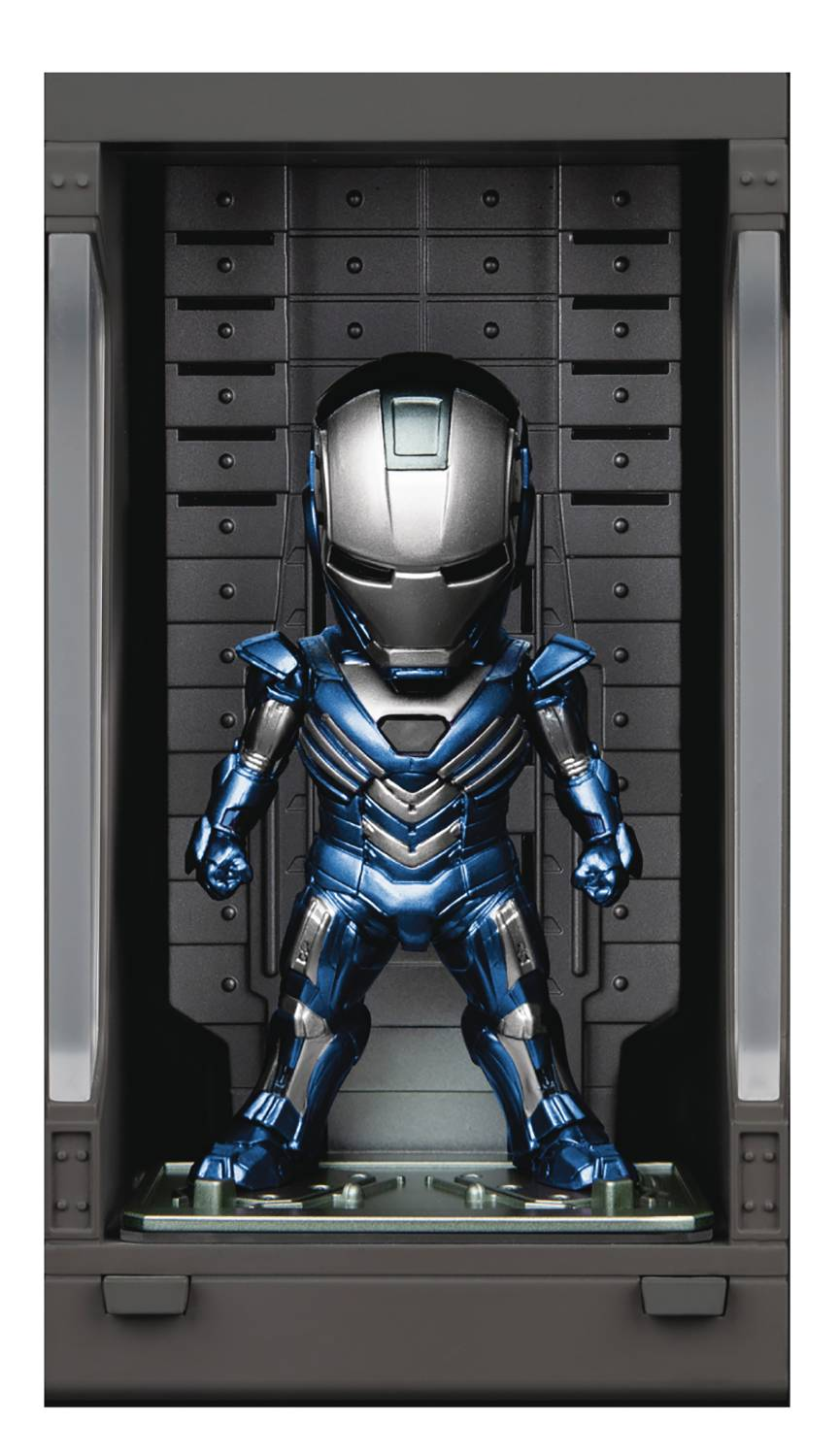 IRON MAN 3 MEA-022 IRON MAN MK XXX W/ HALL OF ARMOR FIG