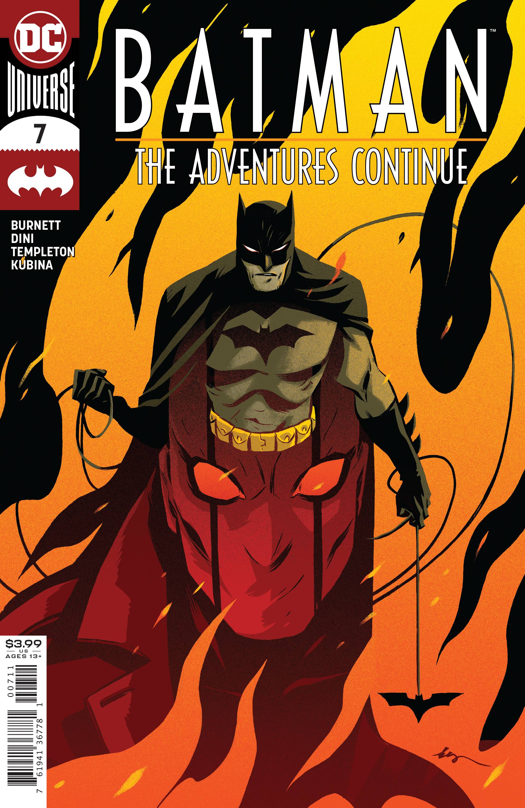 BATMAN THE ADVENTURES CONTINUE #7 (OF 6)