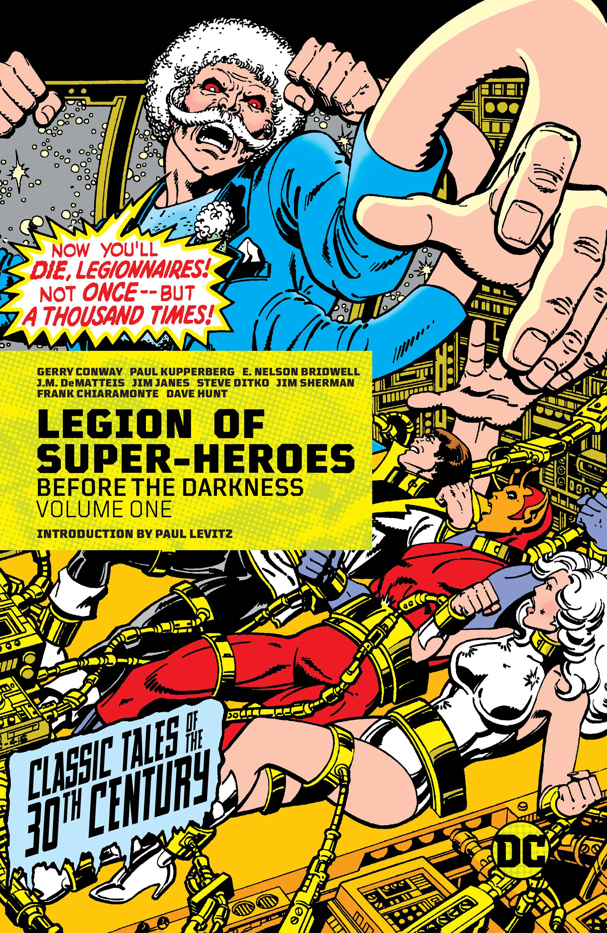 LEGION OF SUPER HEROES TP 01 BEFORE THE DARKNESS