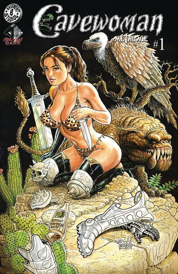 CAVEWOMAN METAL AGE #1 (OF 2) CVR F BUDD ROOT  (MR)